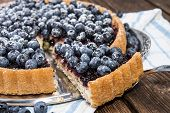 Delicious Blueberry Tart