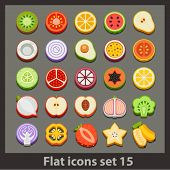 vector flat icon-set 15