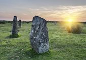 The Hurlers Stone Circle