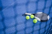 Paddle Tennis Still Life