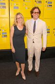 Elisabeth Shue and Davis Guggenheim at the Los Angeles Premiere of 'Get Schooled - You Have the Right'. Paramount Pictures, Los Angeles, CA. 09-08-09