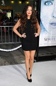 Khloe Kardashian at the Los Angeles Premiere of 'Whiteout'. Mann Village Theatre, Westwood, CA. 09-09-09