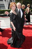 Tova Borgnine and Ernest Borgnine  at the 61st Annual Primetime Creative Arts Emmy Awards. Nokia The
