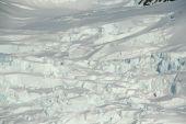 Detail. Glacier Icefall
