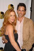 Poppy Montgomery and Adam Kaufman at the 6th Annual Friends of El Faro Benefit Gala. Boulevard 3, Ho