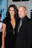 Emma Heming and Bruce Willis  at the Los Angeles Premiere of 'Surrogates'. El Capitan Theatre, Hollywood, CA. 09-24-09