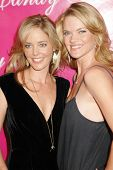 Christina Moore and Kim Morgan Greene at the Launch of 'Candy Ice' Jewelry. Prego, Beverly Hills, CA. 09-24-09