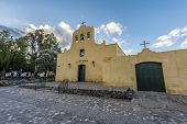 Cachi Church In Salta, Northern Argentina.