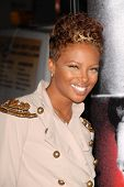 Eva Marcille at the Los Angeles Premiere of 'Law Abiding Citizen'. Grauman's Chinese Theatre, Hollyw