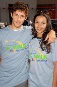 Michael Rady and Jessica Lucas at the 'American Dream 5k Walk' Benefitting Habitat for Humanity. Pacoima Plaza, Pacoima, CA. 10-10-09
