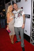Charis B and Luke Burrett at the Silver Star Casting Company Spring 2010 Collection Debut Party. Soc