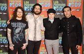 Fall Out Boy  at Los Premios MTV 2009. Gibson Amphitheatre, Universal City, CA. 10-15-09