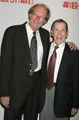 Bob Bates and Irv Jaeger at the 20th Anniversary Inner City Arts Imagine Gala and Auction. Beverly H