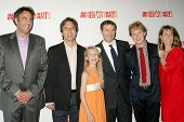 Brad Garrett and Ray Romano with Philip Rosenthal and family at the 20th Anniversary Inner City Arts