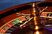 picture of roulette table  - Moments in casino  - JPG