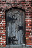 Old Rustic Wooden Door