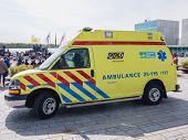 Dutch Ambulance In Action