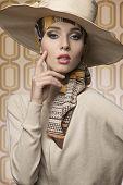 Vogue Elegant Woman