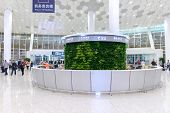 SHENZHEN - APRIL 15: airport interior on April 15, 2014 in Shenzhen, China. Shenzhen Bao'an Internat