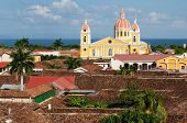 Nicaragua, View On The Old Granada
