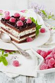 Cake And Raspberry Candy