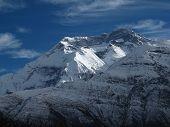 Annapurna Two, High Mountain In Nepal