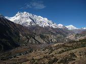 Annapurna Range And Hongde Airport