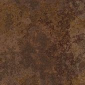 Rust on an old brown metal surface