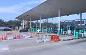 Freeway toll Payment gate Malaysia