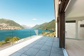pic of penthouse  - beautiful penthouse with panoramic veranda on the lake - JPG
