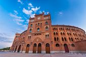 Bullring in Madrid, Las Ventas, Spain.