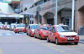 Taxi queue Kuala Lumpur