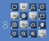 Vector 2D Flat Icons Design