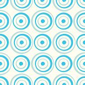 Seamless circles background pattern illustration
