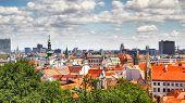 Panoramic view of Bratislava, Slovakia