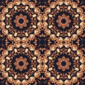 picture of marquetry  - Abstract artistic pattern - JPG