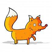 cartoon fox cub