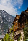 Beautiful  Alpine houses in Austria