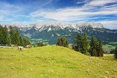 Kaiser Mountains, Austrian Alps