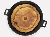 Pie On A Frying Pan