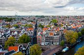 City Scape Of Amsterdam