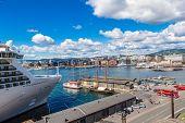 Oslo Skyline In Norway