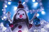Snowman 8 Brought Christmas Balls