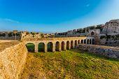 The Bourtzi tower, Methoni, Peloponnese, Greece.