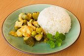 Thailand Food Green Curry