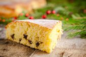 Christmas Piece Of Biscuit Cake