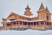 Museum of wooden architecture. Russia