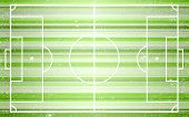 Football abstract field with lines.