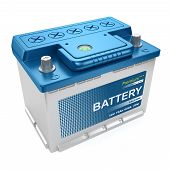 Automotive Battery Isolated