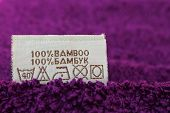 Label 100% bamboo